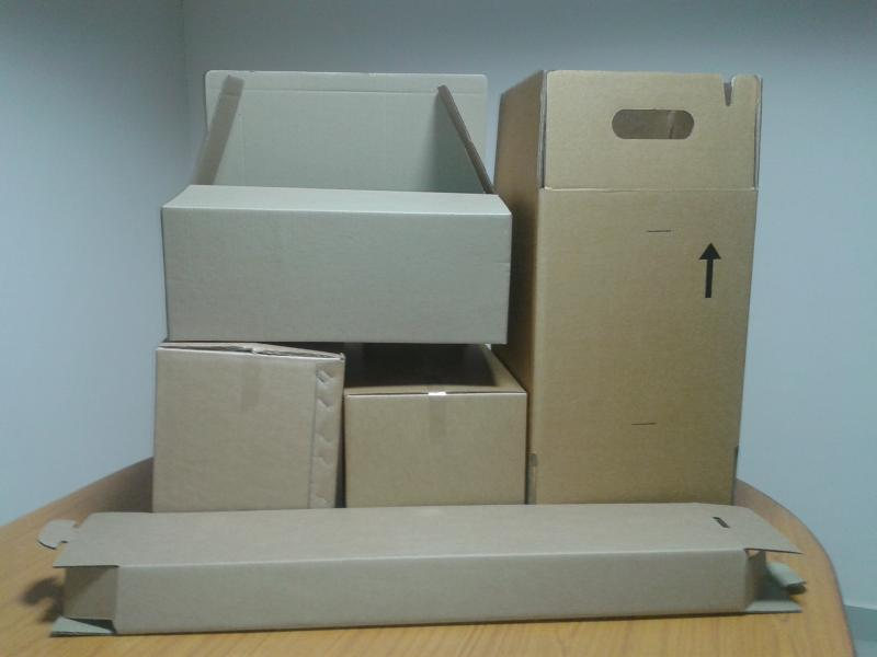 Corrugated boxes 3