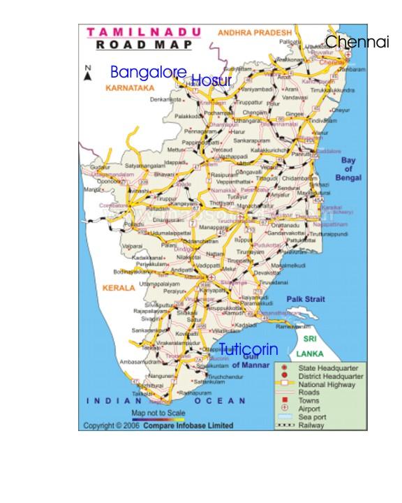 Bharath Packagings - Locations
